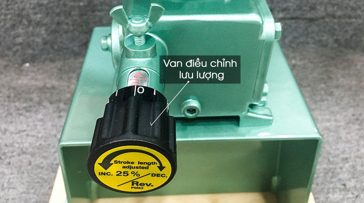 Bộ điều chỉnh lưu lượng của bơm định lượng AHA Series