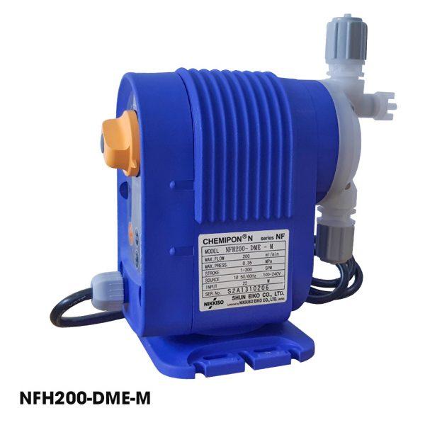 Bơm định lượng mini Nikkiso, bơm định lượng hóa chất giá rẻ